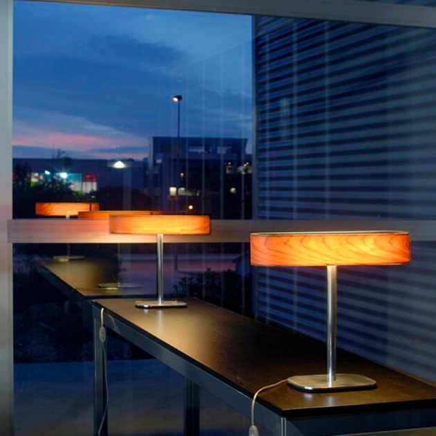 Reflejo lampara de mesa Iclub M de luzifer