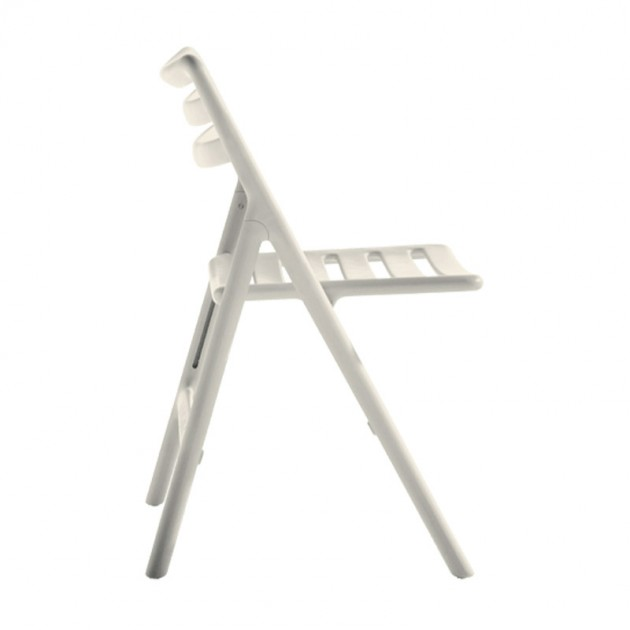 Silla Air plegable blanca de Magis