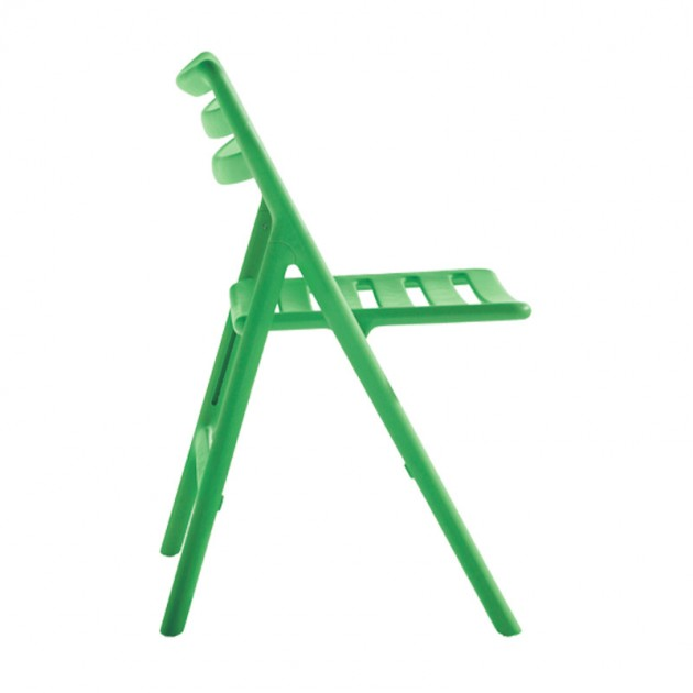 Silla Air plegable verde de Magis