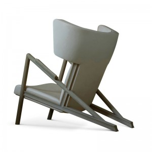 Trasera sillón Grasshopper roble de Finn Juhl en Moises Showroom