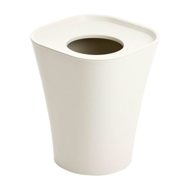 Papelera Trash Magis blanca