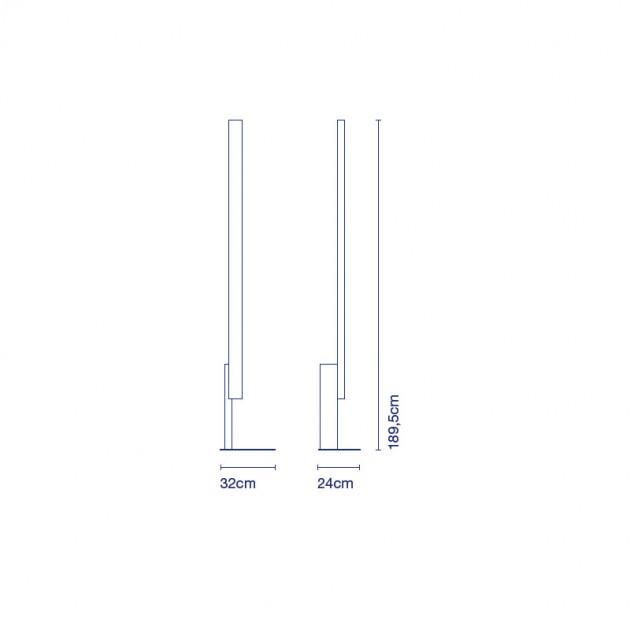 dimensiones lámpara Marset High Line