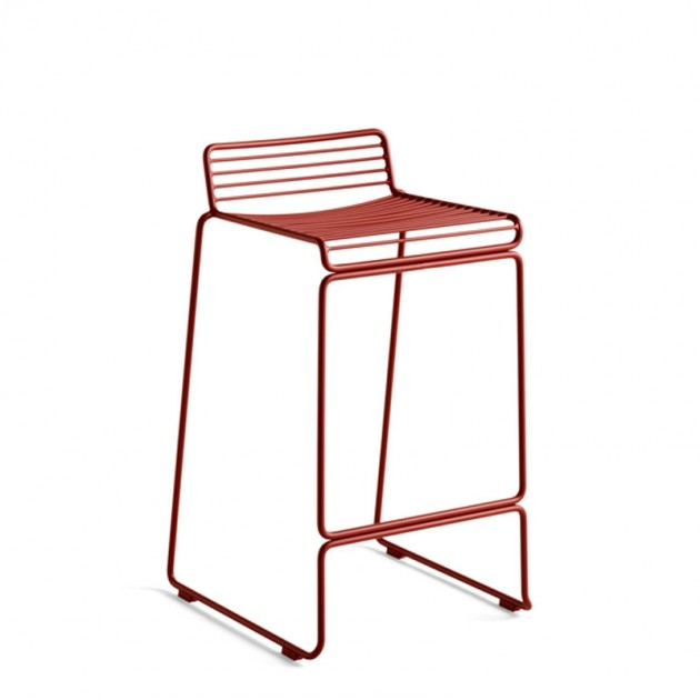 Taburete Hee Bar stool rust de HAY en Moises Showroom