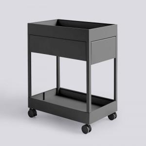Cajonera New Order Trolley de HAY color charcoal en Moises Showroom