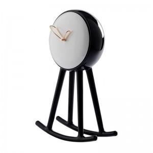 reloj de mesa Infinity Clock Bosa negro