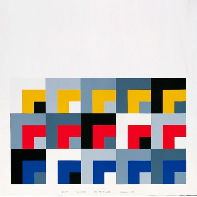 diseño Serigrafía Le Stanze Danese Milano