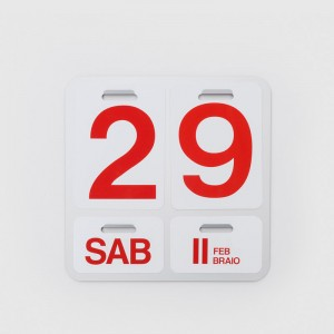 Calendario Formosa Danese Milano blanco