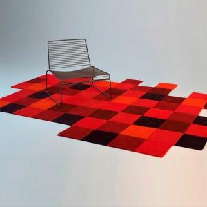 ambiente alfombra Do Lo Rez 1 roja Nanimarquina