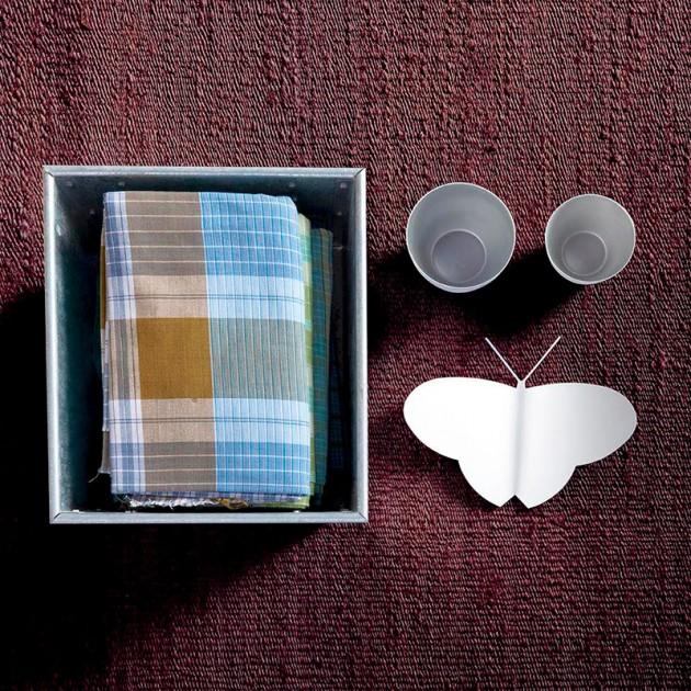 ambiente alfombra Vegetal Nanimarquina marrón