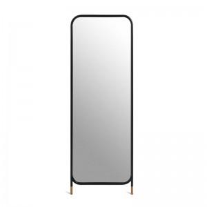Espejo de pie negro Vertical Mirror de Omelette Editions en Moises Showroom
