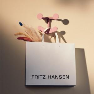perchero Happy Hook blush Fritz Hansen