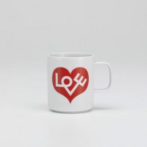ambiente Coffee mug love heart Vitra roja