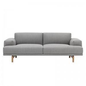 Sofá Compose 2 seater de Muuto tapicería Fiord 151 en Moises Showroom
