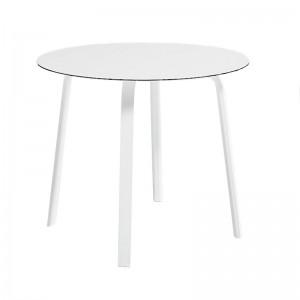 mesa de comedor Stack diámetro 90 cm Gandia Blasco