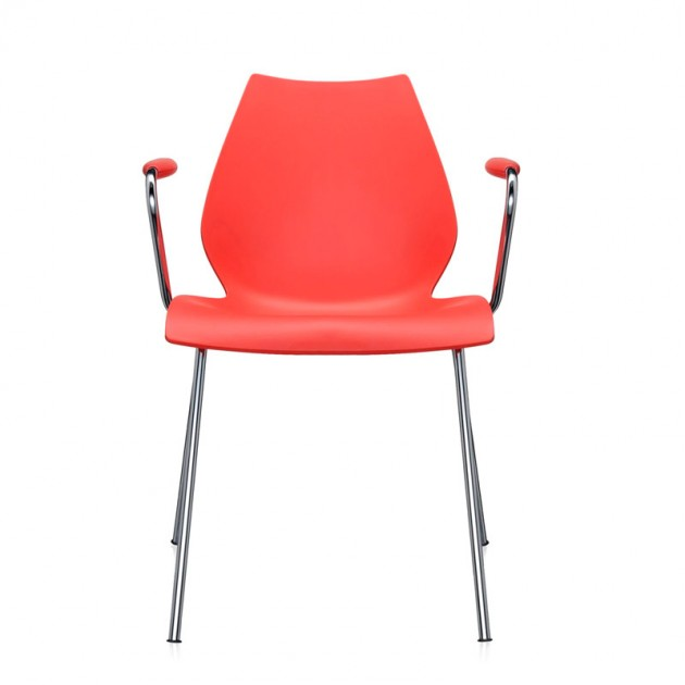 comprar silla Maui con brazos Kartell púrpura