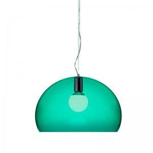 lámpara FL/Y Kartell verde esmeralda