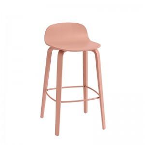 Taburete medio Visu de Muuto color rosa