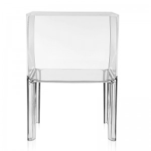 comprar mesa auxiliar Ghost Buster small Kartell cristal