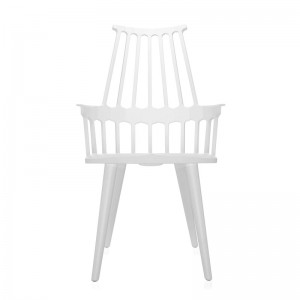 silla comback 4 patas blanca Kartell