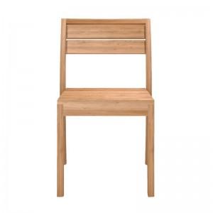 silla ex 1 ethnicraft vista de frente