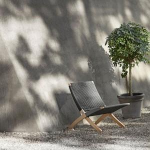 Comprar Butaca Cuba chair MG501 exterior de carl Hansen. Disponible en Moisés showroom