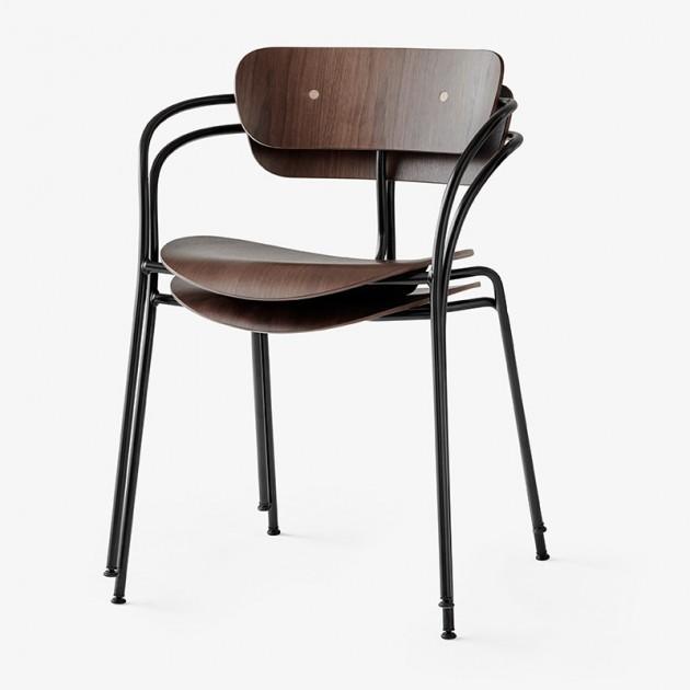 silla con brazos Pavilion AV2 &Tradition