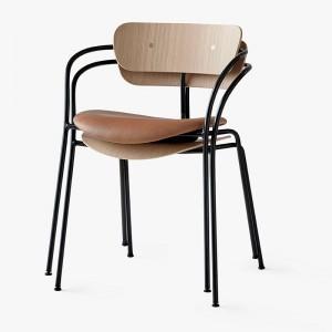 silla Pavilion AV2 roble lacado