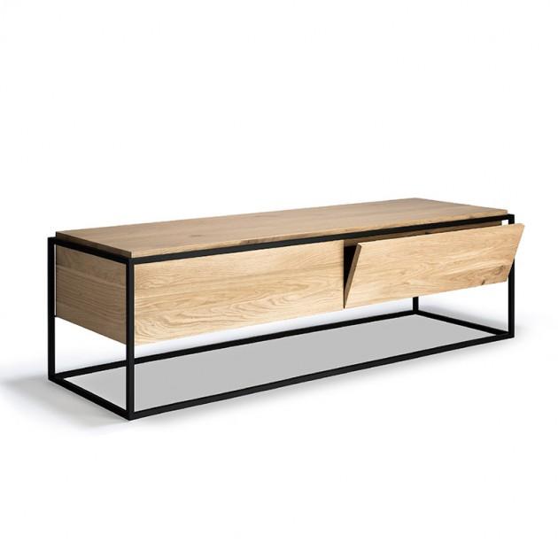 mueble de televisión Monolit 1 cajón 1 puerta abatible Ethnicraft