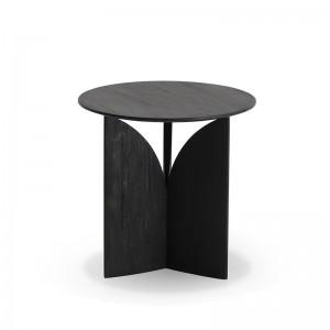mesa auxiliar Fin en teca negra Ethnicraft