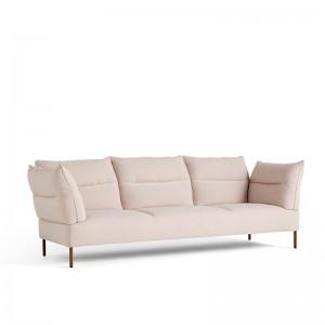 sofá Pandarine brazos reclinables 3 plazas HAY