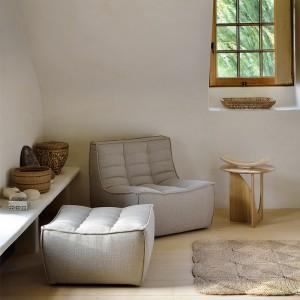 salon con mesa auxiliar Geometric Alain Van Havre
