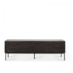 mueble de TV Grooves teca Ethnicraft