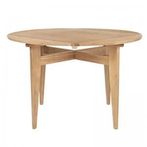 Mesa de comedor B-Table, round/square de Gubi en Moises Showroom