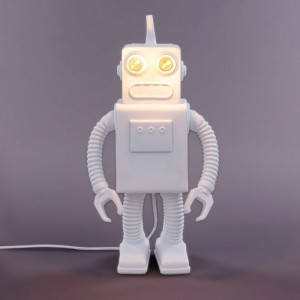 Robot table lamp Seletti
