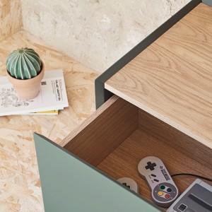 Mueble TV Arista de Teulat color verde en Moises Showroom