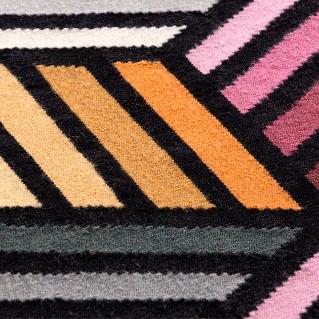 Kilim Parquet Hexagon lana