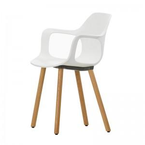 Hal armchair wood silla de comedor Vitra