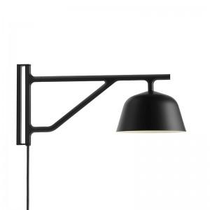 Ambit wall lamp Black de Muuto en Moises Showroom