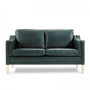 sofá 2 plazas Mou K371 Kragelund piel