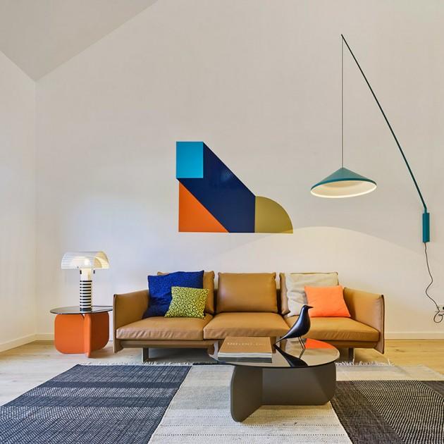 ambiente salón sofá Deep Sancal piel
