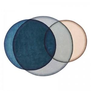 Alfombra Crystal Blue de Gan Rugs en Moises Showroom