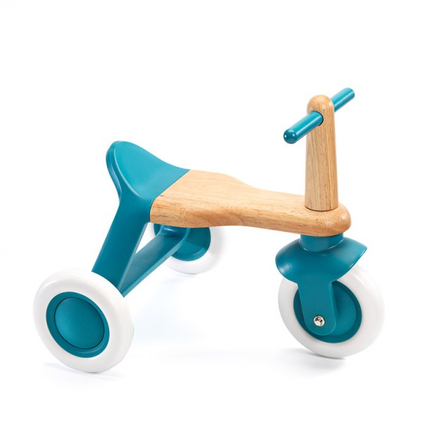 Triciclo madera Blue roll'it! Djeco