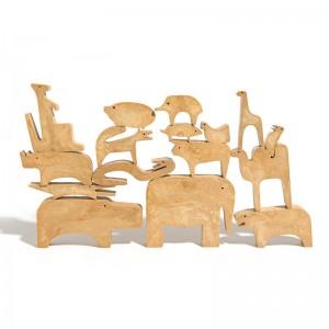 Puzzle 16 animales Danese Milano Enzo Mari