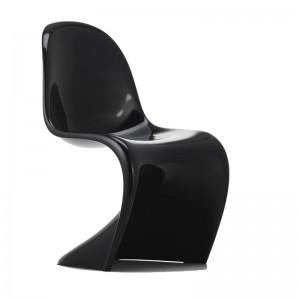 Panton Chair classic Vitra negra