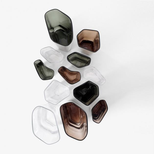 colección jarrones Glass vases Andtradition