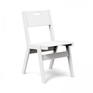 silla de comedor Alfresco handle Loll designs blanca