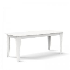 Loll designs mesa comedor Alfresco blanca
