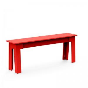 banco Fresh Air Loll designs largo 120 rojo