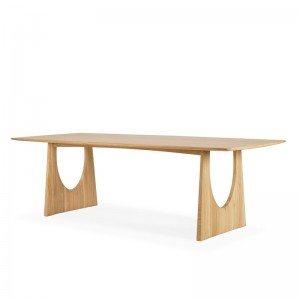 mesa de comedor Geometric Ethnicraft roble