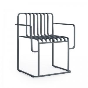 silla con brazos Grill Diabla outdoor antracita